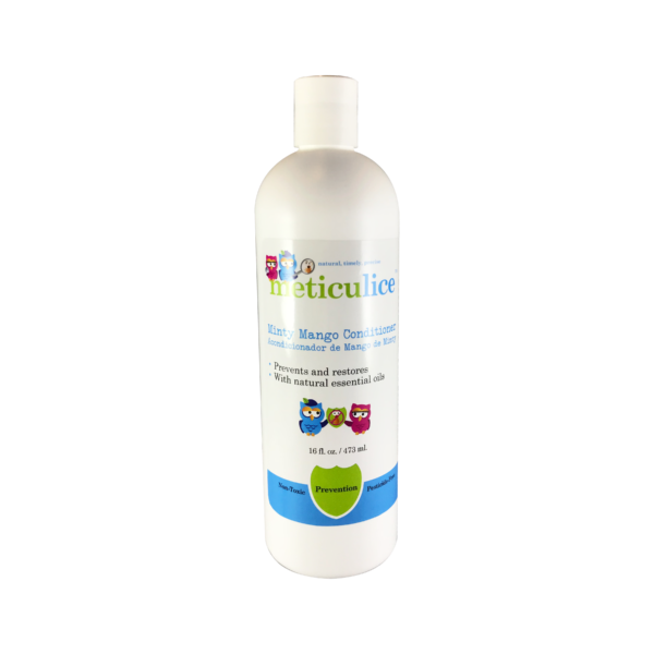 Meticulice Head Lice Prevention & Treatment Minty Mango Conditioner 16oz Prevención de Piojos de menta Mango Acondicionador 16oz