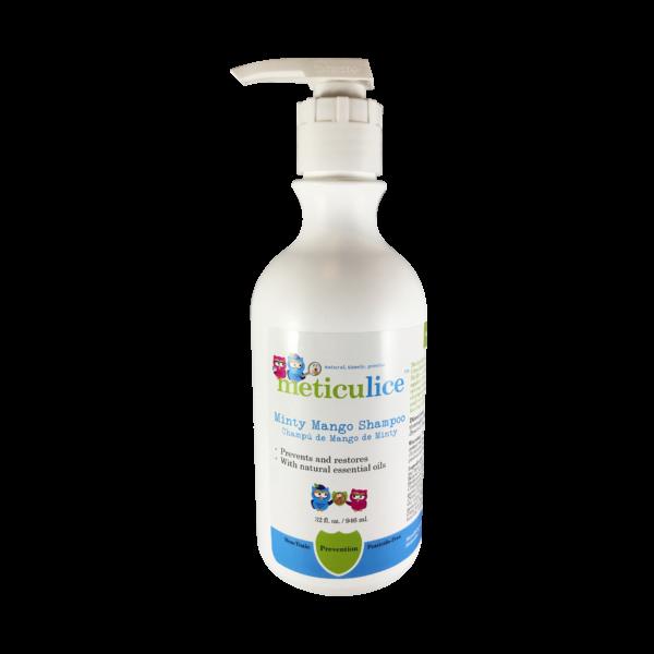 Head Lice Prevention Minty Mango Shampoo 32oz Prevención de Piojos de menta del mango Shampoo 32 oz