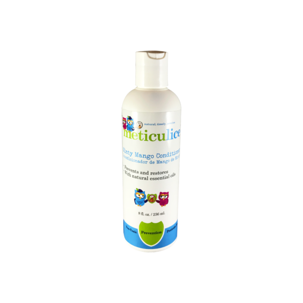 Meticulice Head Lice Prevention & Treatment Minty Mango Conditioner 8oz Prevención de Piojos de menta Mango Acondicionador 8oz